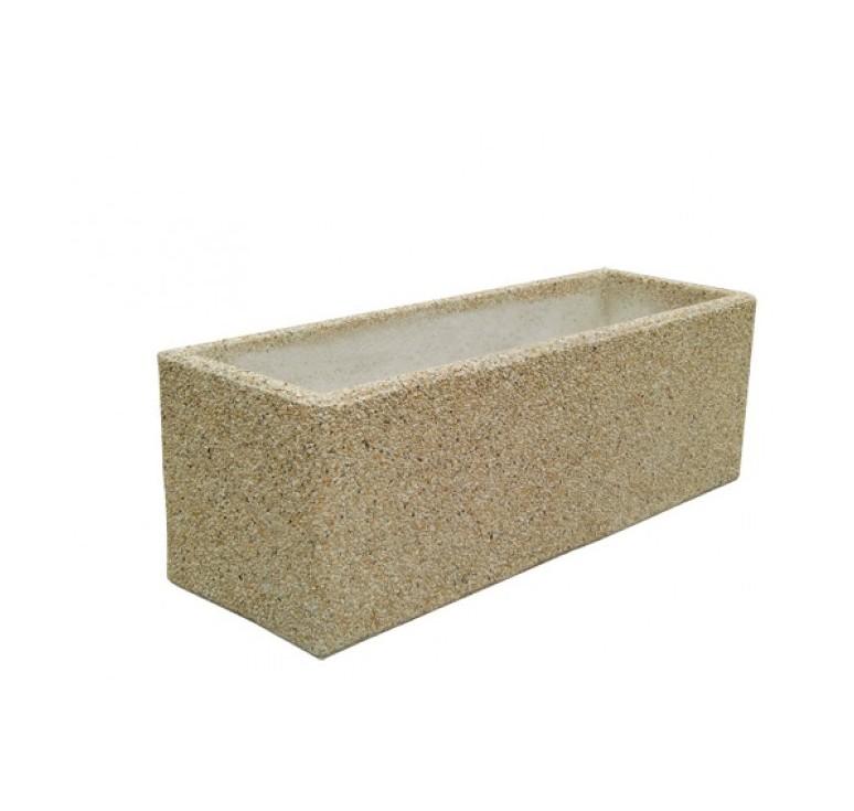 jardiniere beton rectangulaire moderne accueil design et. Black Bedroom Furniture Sets. Home Design Ideas