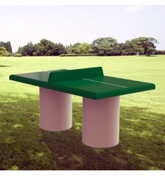 Table de ping pong en b ton table de ping pong d - Table de ping pong exterieur pour collectivite ...
