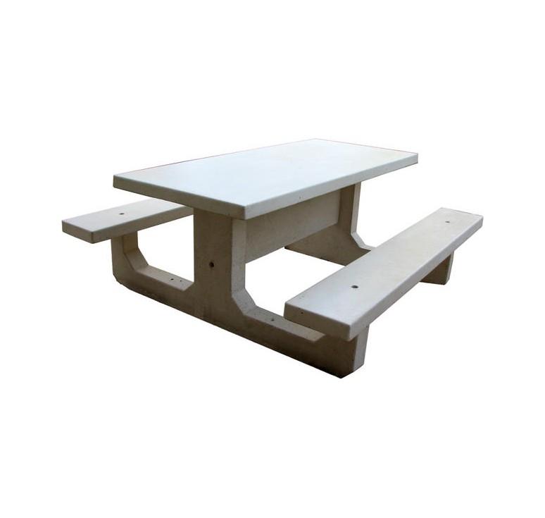 mobilier urbain en b ton table de pique nique en b ton. Black Bedroom Furniture Sets. Home Design Ideas