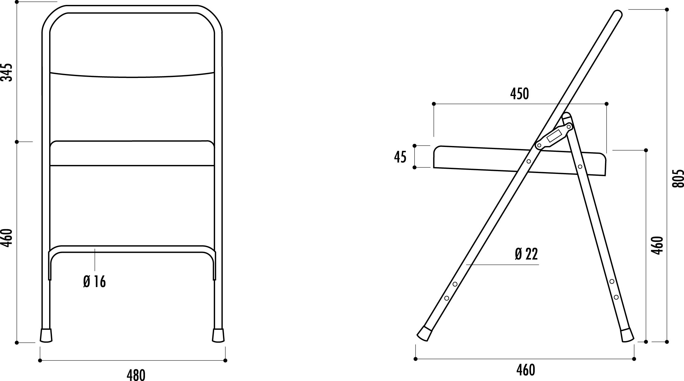 chaise pliante g nes chaise pliante pour collectivit s. Black Bedroom Furniture Sets. Home Design Ideas