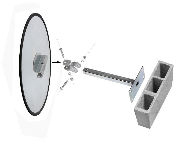 Miroir de circulation en industrie net collectivit s for Miroir industrie