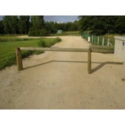 Barrière Basculante en bois