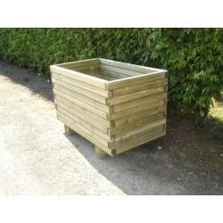 Jardinière Rectangulaire en bois