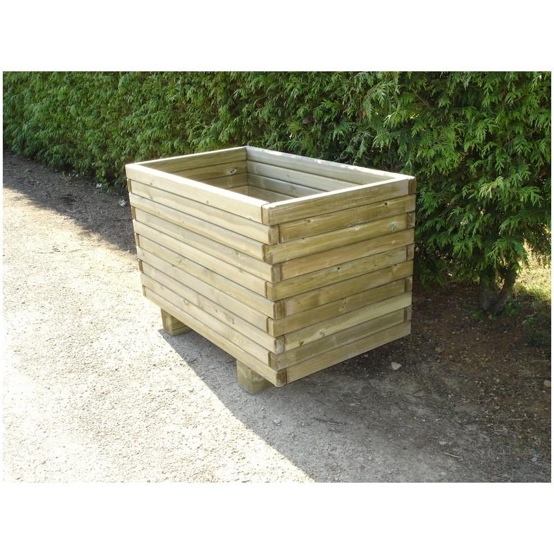 jardini re rectangulaire en bois. Black Bedroom Furniture Sets. Home Design Ideas