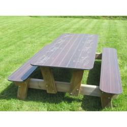 Table Pique Nique en compact