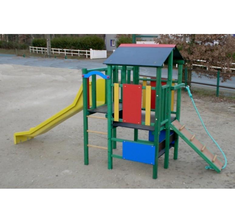 structure multi jeux m t orite structure de jeux pour parc ou aire de repos net collectivit s. Black Bedroom Furniture Sets. Home Design Ideas