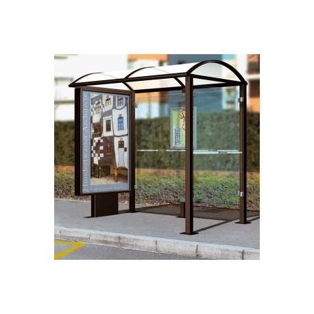 abri bus port cros station de bus port cros am nagement. Black Bedroom Furniture Sets. Home Design Ideas