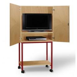 Visuel de l'armoire à télévision pour école - Net Collectivités