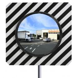 Miroir Carré pour voies publiques
