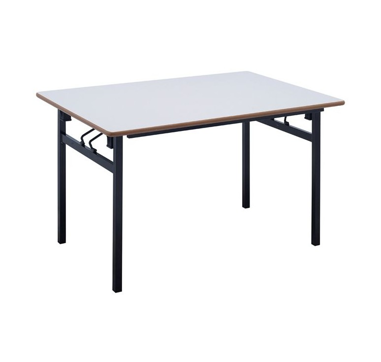 Table de collectivit pliante table pliante en plastique et m tal de collect - Table pliante modulable ...