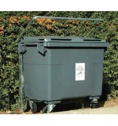 Protège conteneur basculant