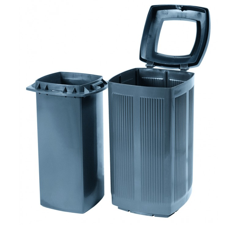 poubelle plastique d 39 ext rieur toscana poubelle plastique d 39 ext rieur recyclable net. Black Bedroom Furniture Sets. Home Design Ideas