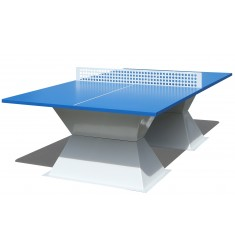 Table de ping pong d 39 ext rieur pour collectivit table de - Table de ping pong exterieur en beton ...