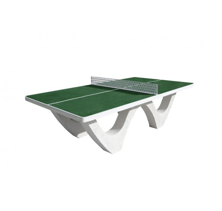 Tennis de table en b ton arm table ping pong net - Table de ping pong exterieur pour collectivite ...
