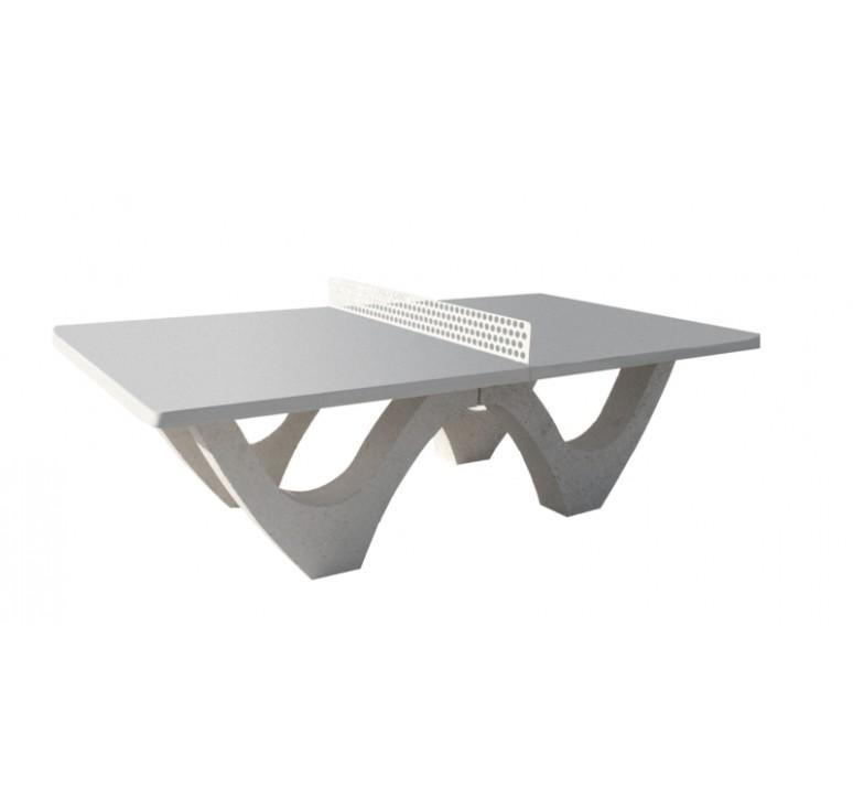 tennis de table en b ton arm table ping pong net collectivit s. Black Bedroom Furniture Sets. Home Design Ideas