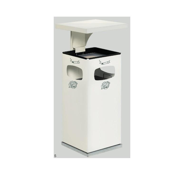 cendrier ext rieur avec poubelle int gr e net collectivit s. Black Bedroom Furniture Sets. Home Design Ideas