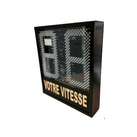 panneau indicateur de vitesse radar indicateur de vitesse. Black Bedroom Furniture Sets. Home Design Ideas