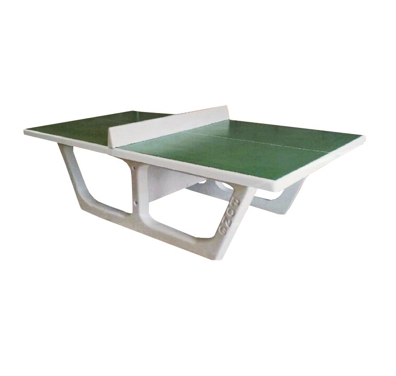 Table de ping pong en b ton rondo net collectivit s - Table ping pong exterieur beton ...