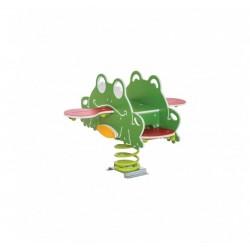 Jeu sur ressort grenouille 4 places - Net Collectivités