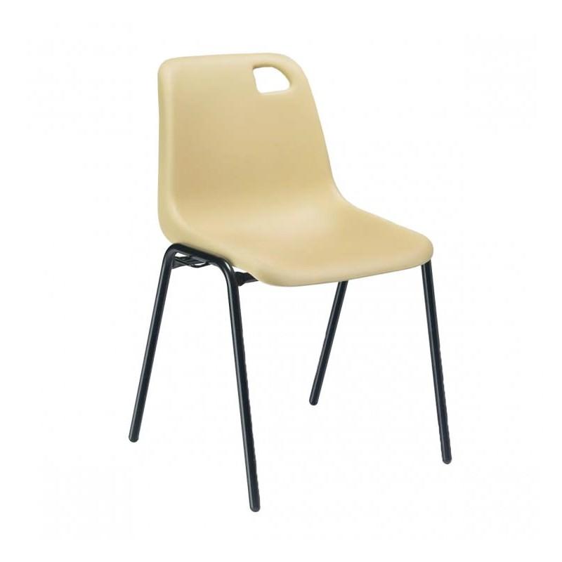 chaise de collectivit vanoise chaise empilable coque. Black Bedroom Furniture Sets. Home Design Ideas