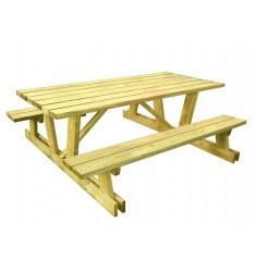 Table Pique Nique Bois Montagnarde