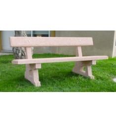 Achat de banc public en bois banquette de collectivit for Prix banc exterieur
