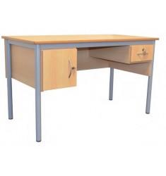 Bureau Scolaire Professeur 130 x 65 x 75 cm