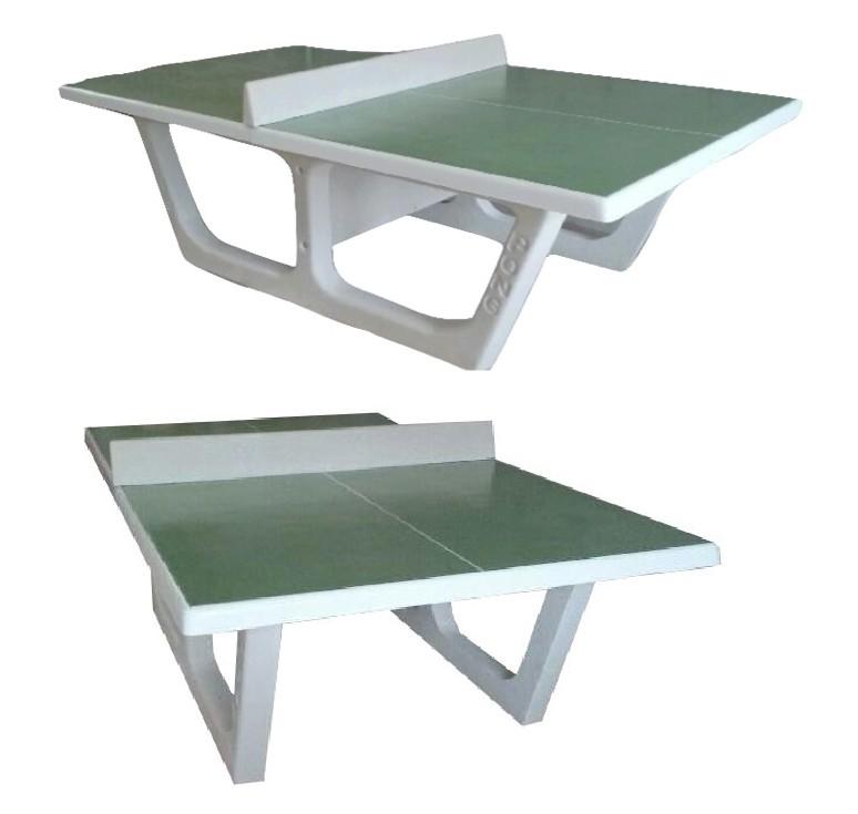 Table de ping-pong en béton RONDO - Net Collectivités