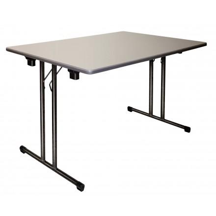 table rectangulaire de collectivit table pliante en. Black Bedroom Furniture Sets. Home Design Ideas