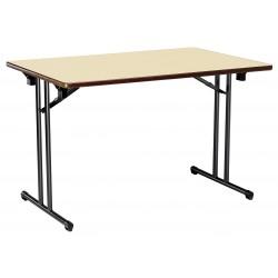 Table pliante plateau mélaminé modèle Berry - Net Collectivités