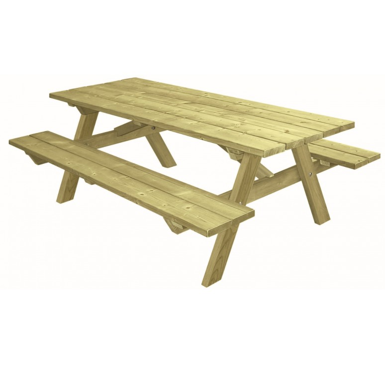 table de pique nique en bois table pour aire de repos table de camping en bois. Black Bedroom Furniture Sets. Home Design Ideas