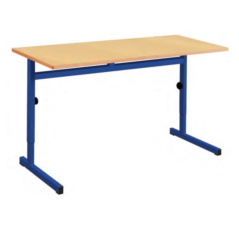 mobilier scolaire bureau colier biplace louis hauteur r glable. Black Bedroom Furniture Sets. Home Design Ideas