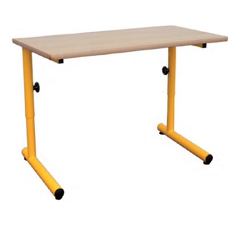 mobilier scolaire table colier laura biplace hauteur r glable. Black Bedroom Furniture Sets. Home Design Ideas