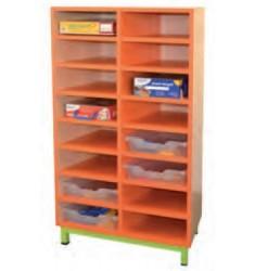 Rangement d 39 cole rangement pour casier scolaire casier for Meuble 16 cases