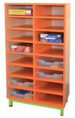 meuble 16 cases en mlamin meuble 16 cases pour cole maternelle