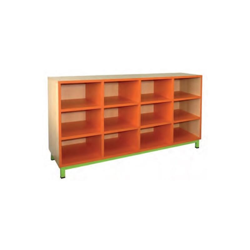 meuble casier 12 cases mobilier maternelle mobilier scolaire. Black Bedroom Furniture Sets. Home Design Ideas