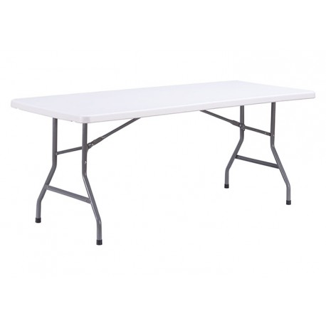 Table pliante en polypro 183 cm