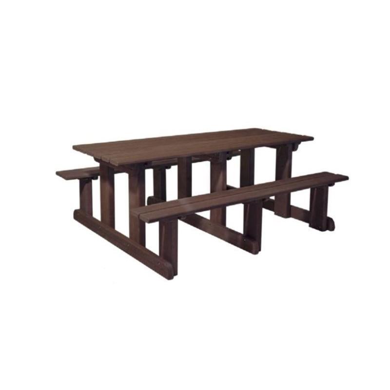 mobilier urbain en recycl table piquenique urbaine en recycl net collectivit s. Black Bedroom Furniture Sets. Home Design Ideas