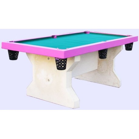 Mobilier urbain en beton table de jeu en beton table for Table en beton exterieur