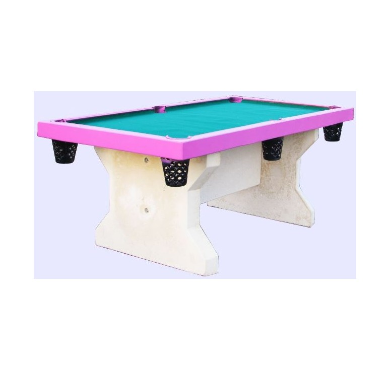 Mobilier urbain en beton table de jeu en beton table for Table jeu exterieur