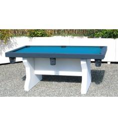 Table de jeu de billard en béton armé