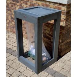 Corbeille Canopé de rue vigipirate en Plastique Recyclé - Netcollectivités