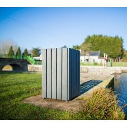 Corbeille de ville Languedoc en recyclé - Netcollectivités