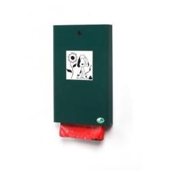 Distributeur pour déjections canine - vert mousse - RAL 6005 - Netcollectivités
