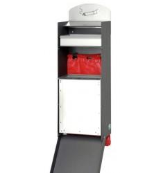 Distributeur de canisacs avec cendrier et corbeille
