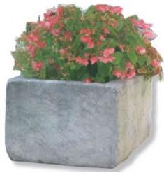 Jardinière pour municipalité en pierre reconstituée