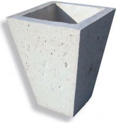 Vase pour municipalité en pierre reconstituée