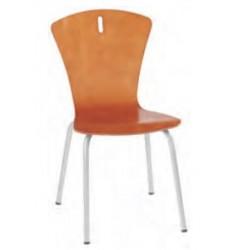 Chaise coque bois multiplis