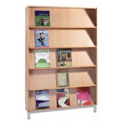 Meuble bibliothèque présentoir à livres - Net Collectivités
