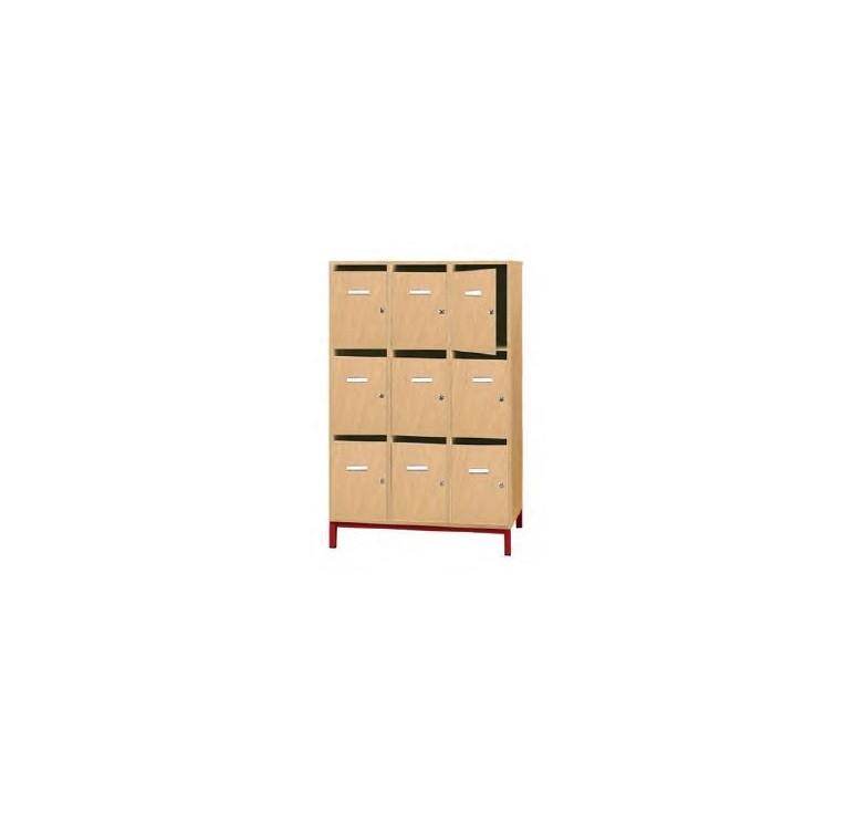 meuble boite aux lettres enseignants mobilier scolaire. Black Bedroom Furniture Sets. Home Design Ideas